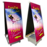 Banner Stand Outdoor