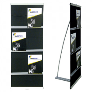 Brochure Stand Econo Double Volume