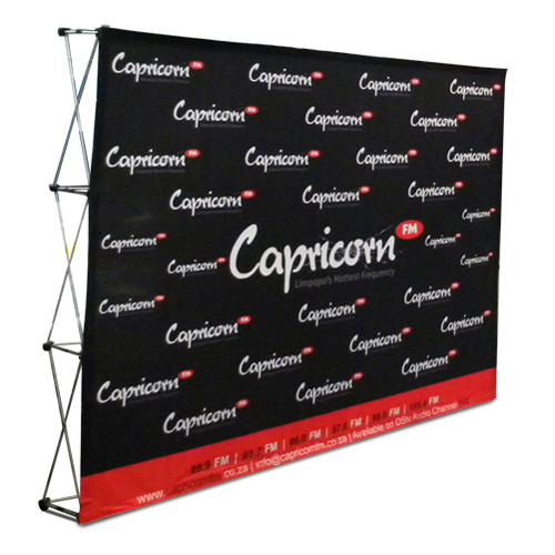 Cloth Banner Wall Straight Ideal Displays Cloth Banner