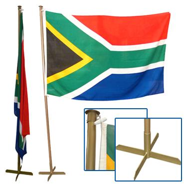Flag Pole Indoor 2500