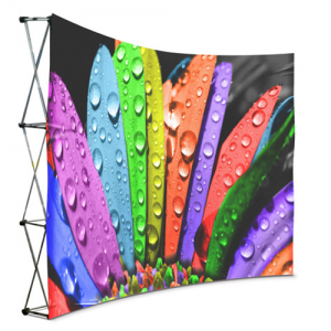 Cloth-Banner-Wall-Curve